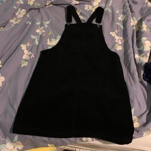 wild fable Skirts - Cute black corduroy overall dress